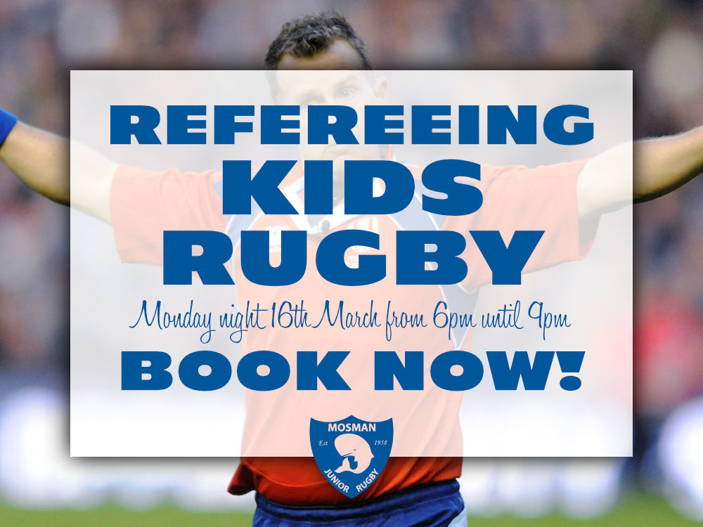 Refereeing Kids Rugby