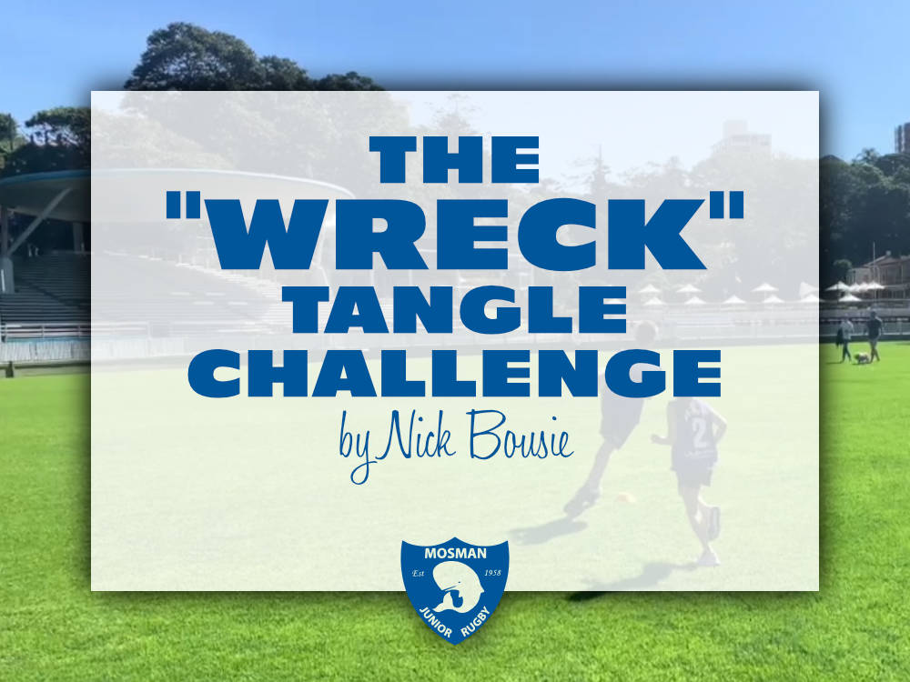 "The ""Wreck"" Tangle Challenge"